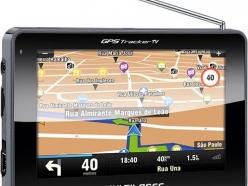 "GPS MULTILASER TRACKER III TELA 4,3"""